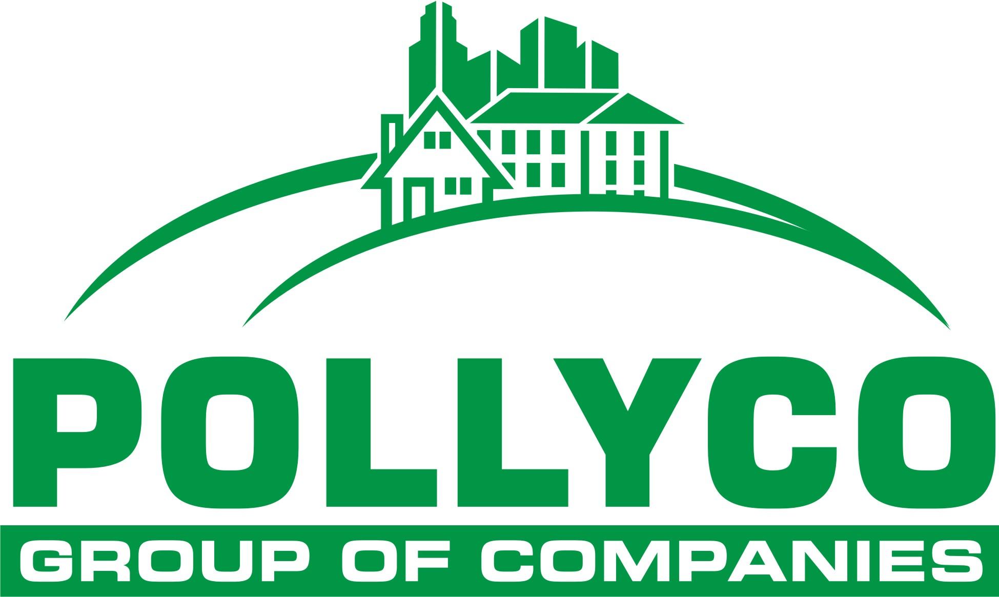 PollyCo Group of Companies logo white