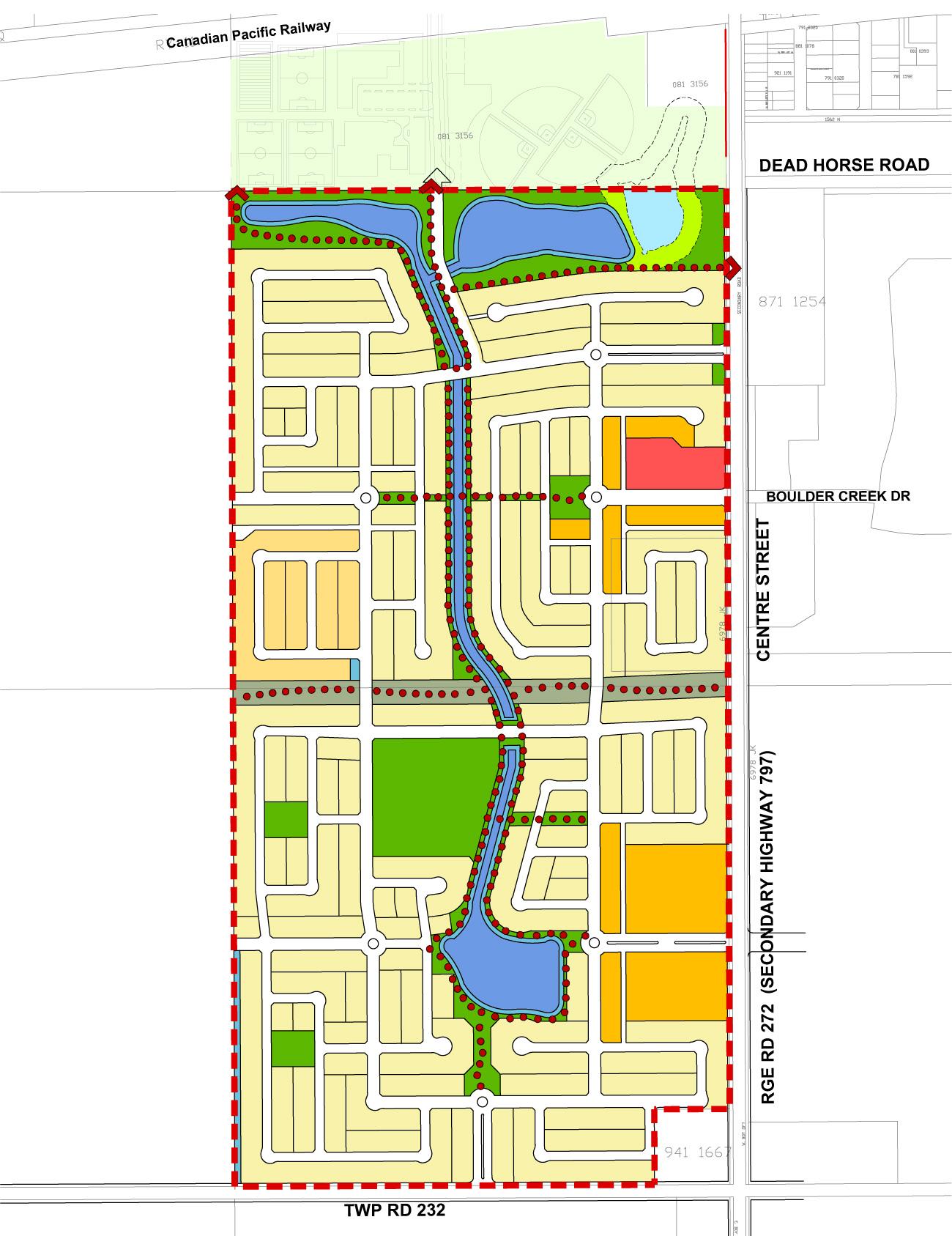Langdon Alberta Walk Paths