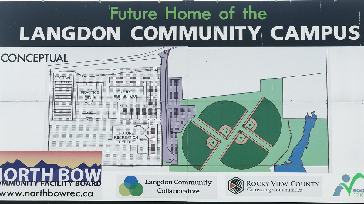 visit langdon baseball diamonds